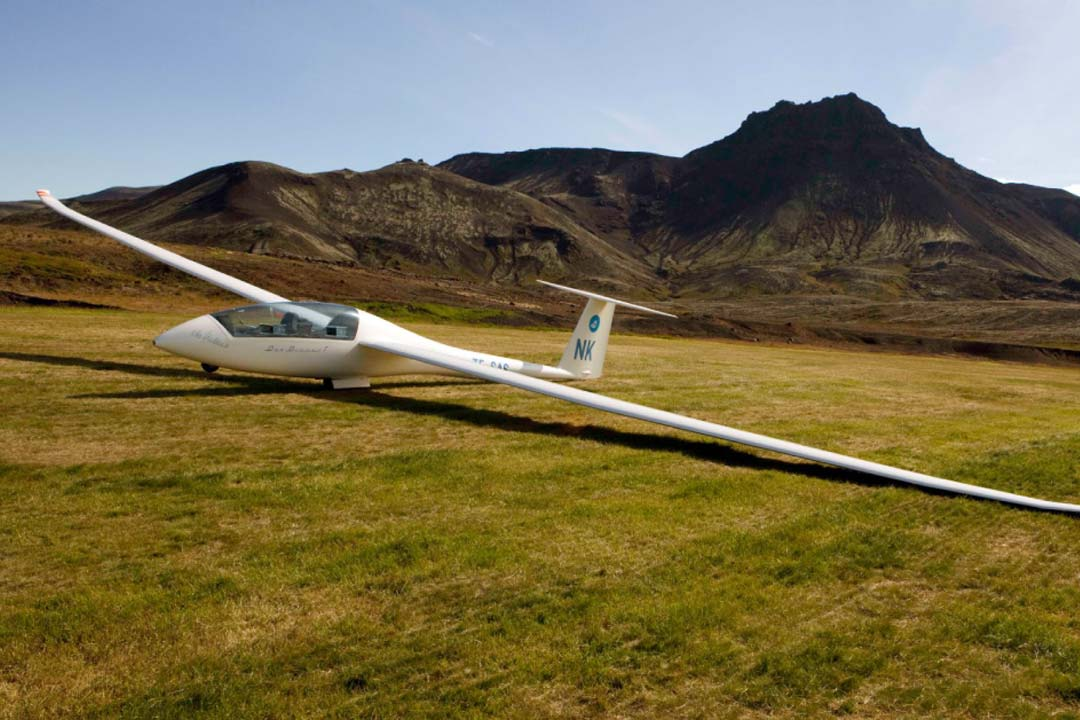 glider adventure flight reykjavik iceland