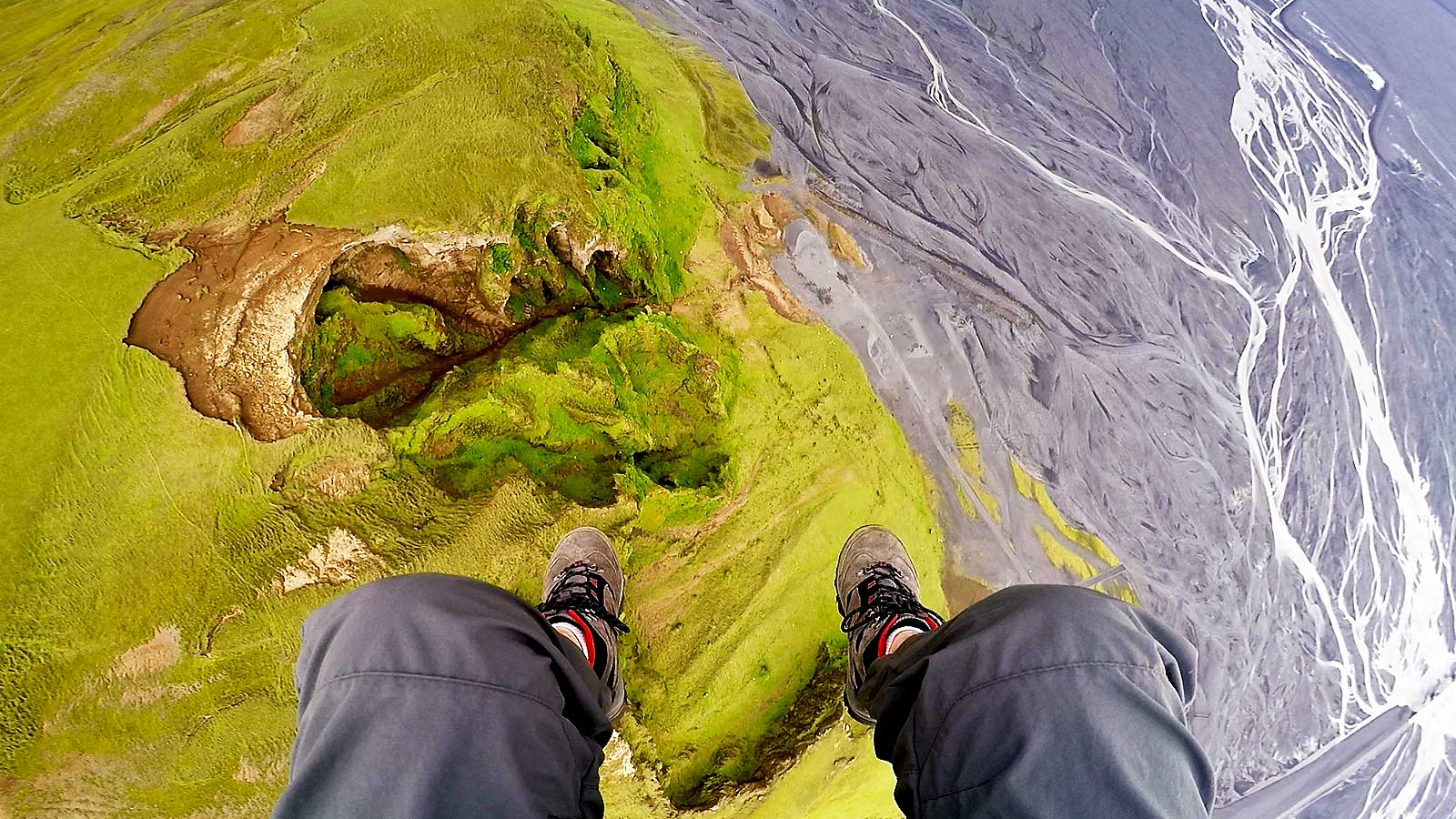 Paragliding South Coast Iceland Adventure Day Tour Combo