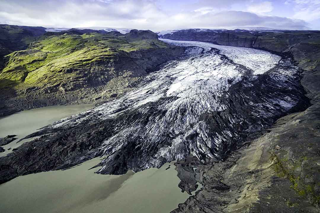 South Coast & Glacier Super Jeep Tour Iceland Solheimajokull Glacier