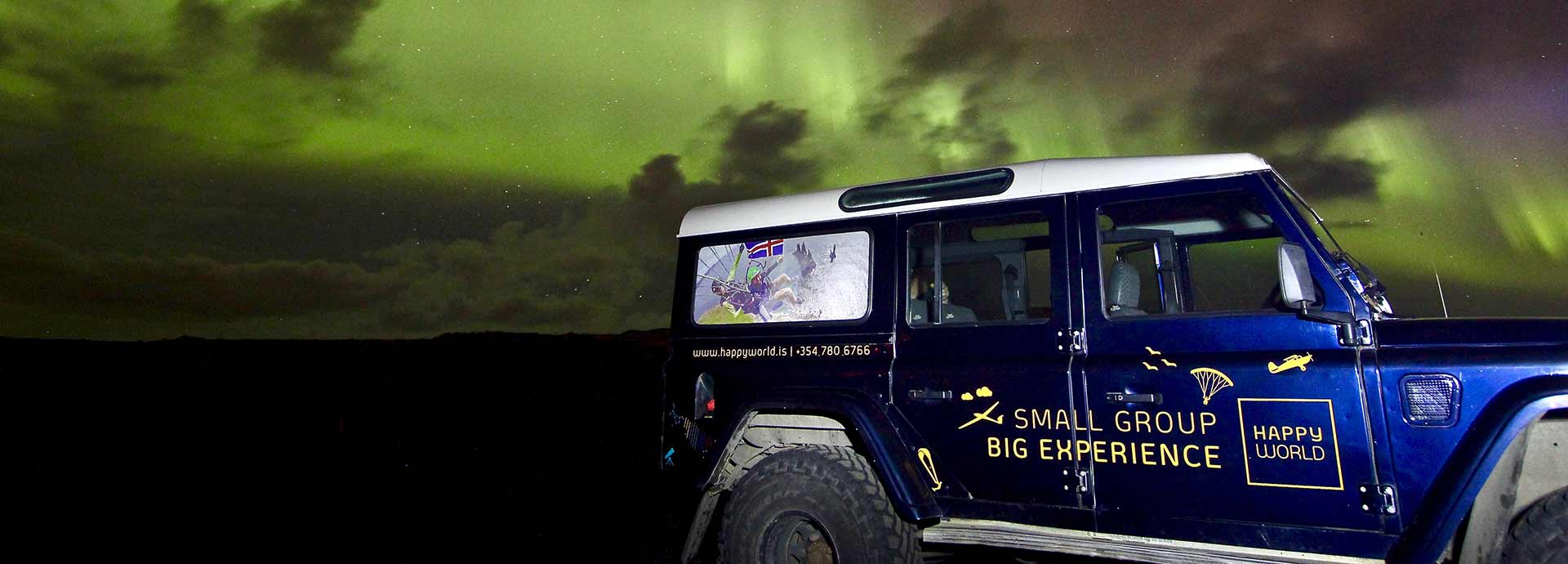 Northern Lights Super Jeep