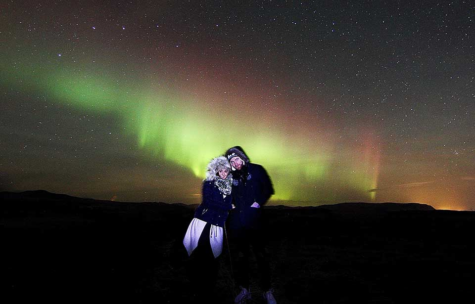 Northern Lights And Stargazing Tour Romantic Happyworld Iceland