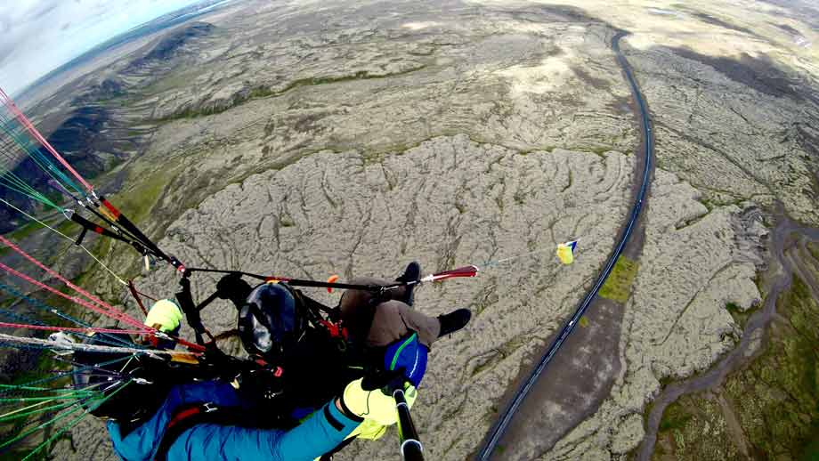 Paragliding Tandem Flight from Reykjavik - Happyworld Iceland