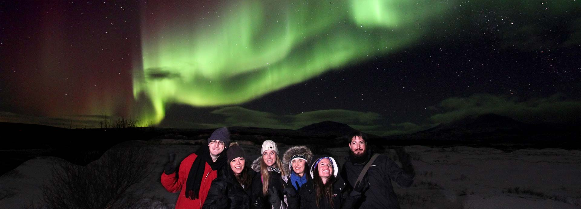 Northern Lights Experience Small Group Tour Happyworld Iceland