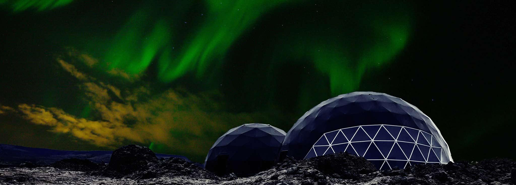 Aurora Basecamp Northern Lights Observatory Tour
